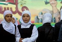 Jilbab in Gaza worn by pupils