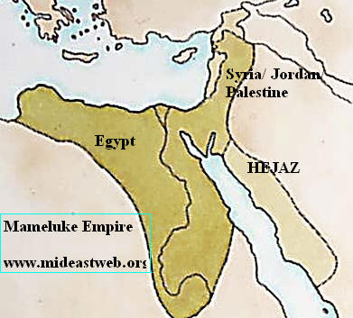 Mameluke empire in the Middle East