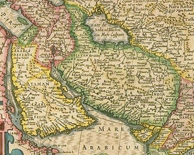 Safavid empire map