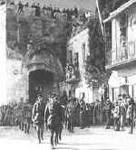 Gen. Allenby Enters Jerusalem, 1917
