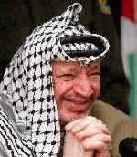 PA Chairman and PLO Leader Yasser Arafat