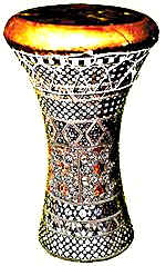 Mideast Web Middle East Musical Instruments Darbouka Darbuka